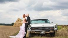US-Oldtimer Cadillac Calais 1967 Hochzeit