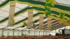 Zelthalle 30m x 60m x 4m