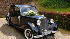 Hochzeitsauto Mercedes 170 V mit Chauffeur