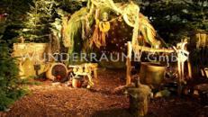 Wichtelhütte - WUNDERRÄUME GmbH vermietet: Dekoration/Kulisse für Event, Messe, Veranstaltung, Incentive, Mitarbeiterfest, Firmenjubiläum