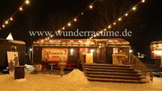 Zirkuswagen als Café & Restaurant edel, WUNDERRÄUME GmbH vermietet: