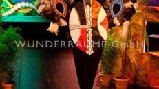 Massai-Installation - WUNDERRÄUME GmbH vermietet: Dekoration/Kulisse für Event, Messe, Veranstaltung, Incentive, Mitarbeiterfest, Firmenjubiläum