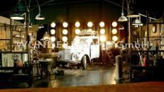 Nostalgische Werkstatt - WUNDERRÄUME GmbH vermietet: Dekoration/Kulisse für Event, Messe, Veranstaltung, Incentive, Mitarbeiterfest, Firmenjubiläum