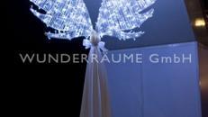 Engelsflügel - Feenflügel - Leuchtflügel WUNDERRÄUME GmbH vermietet:  Dekoration / Kulisse für Event, Messe, Veranstaltung, Incentive, Mitarbeiterfest, Firmenjubiläum