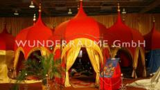 Orient Palast / 1001 Nacht Palast; WUNDERRÄUME GmbH vermietet: Dekoration/Kulisse für Event, Messe, Veranstaltung, Incentive, Mitarbeiterfest, Firmenjubiläum