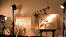 Scheinwerfer- und Schautafel SET- WUNDERRÄUME GMBH vermietet: Dekoration/Kulisse für Event, Messe, Veranstaltung, Incentive, Mitarbeiterfest, Firmenjubiläum