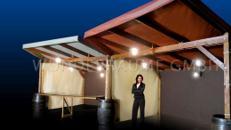 Rustikalstand groß - WUNDERRÄUME GMBH vermietet: Dekoration/Kulisse für Event, Messe, Veranstaltung, Incentive, Mitarbeiterfest, Firmenjubiläum