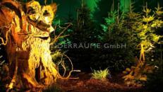 Märchenbaum Eiche, Baum mit Augen & Mund, WUNDERRÄUME GmbH vermietet: Dekoration/Kulisse für Event, Messe, Veranstaltung, Incentive, Mitarbeiterfest, Firmenjubiläum