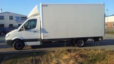 Lkw Transporter 3,5 to. Koffer mit Hebebühne Umzug