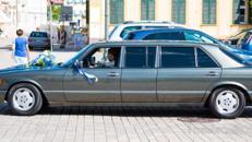 Mercedes 560 SEL Pullman (W 126) mit Chauffeur