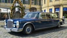 Mercedes 600 Pullman (W 100) mit Chauffeur