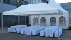 Pavillon, Klappzelt 3x6 m