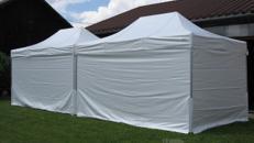 Pavillon, Klappzelt 3x4,5 m, weiß