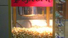 Nostalgische Popcornmaschine