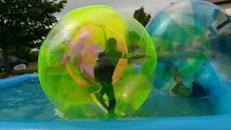 Wasserlaufbälle,Wasserlaufball,Zorbing,Wasserspiele