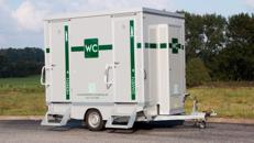 Toilettenwagen Lplus / Miettoiletten