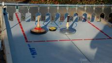 Eisstockbahn, Fun Curling, Eisstockschießen
