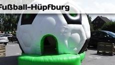 Fußballhüpfburg