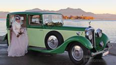 Luxuriöser engl. Daimler von 1934 mit 7-Sitzen