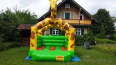 "Hüpfburg ""Giraffe"" mieten"