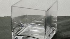 Windlicht Glas Breite 10cm Tiefe 10cm Höhe 10cm