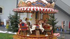 12 sitziges Karussell ~ Kinderkarussell ~ Nostalgiekarussell