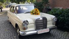 Hochzeitsauto (Oldtimer) mit Chauffeur