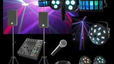 Musikanlage inkl. Ton, Licht & Effekten