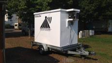 Verleih: Kühlkoffer Kühlanhänger PKW Anhänger