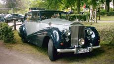 Oldtimer Rolls-Royce Silver-Wraith von 1952