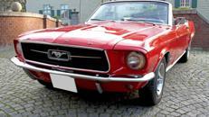 Mustang GT Cabrio Baujahr 1967 ***V8 Motor***