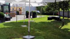 Sonnenschirm 4 m, weiß