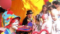 Kinderunterhaltung, Kinderfest, Animation