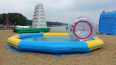 Wasserlaufrolle - Aquaroller - Zorb mieten