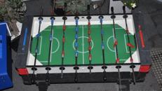 Tischkicker - Fußballkickertisch mieten