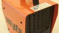 Eletroheizgerät 2 kW - mobile Zeltheizung