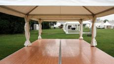Kassettenboden ab 75 m² für Ihren Zeltboden