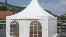 Pagode - 5 x 5 m Partyzelt ohne Boden