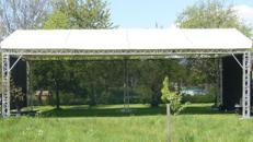 Überdachung Traversedach Traverse 6 x 12 m