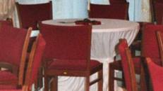 Hussen in B-Qualität für Tisch rund 100 cm