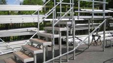 Handlauf für Treppenstufen für Ihre Bühne