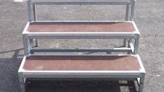 Treppenstufe für Ihr Podest nicht höhenverstellbar