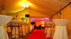 Seitenbehang glatt für Ihre Eventdekoration