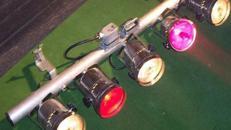 5er Bar PAR 36 Scheinwerfer /Tanzflächenbegrenzung