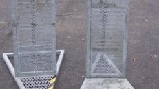 Absperrgitter /Bühnenabsperrung schwere Ausführung