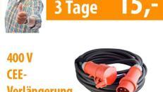 Kabel 400 Volt 20 m