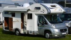 Wohnmobil mit Rückfahrkamera/6 Schlafplätzen