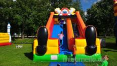 Clownrutsche - Riesenrutsche Clown mieten