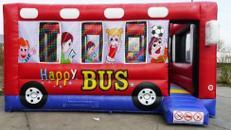 Hüpfburg Happy Bus