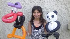 Kunterbuntes Kinderprogramm für Ihr Firmenevent, Ballon Figuren, Ballonkünstler, Ballontiere, Ballonzauberer, Ballonclown, Clown, Kinderdisco, Luftballon Figuren